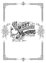 Sweet memories background