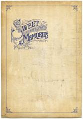 Sweet memories background