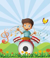 A little drummer