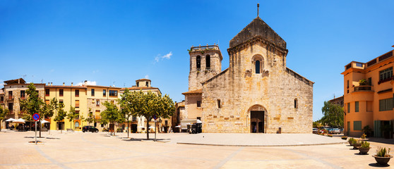 Church of Sant Pere in Besalu. Catalonia