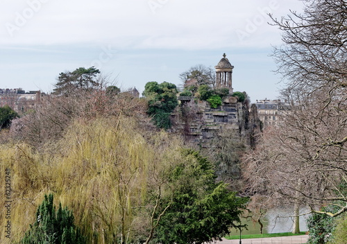 Temple d'amour, Parc des Buttes Chaumont, Paris