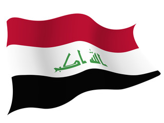イラク 国旗 国