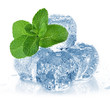 ice cubes and mint - 62325837