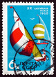 Postage stamp Russia 1968 Yacht