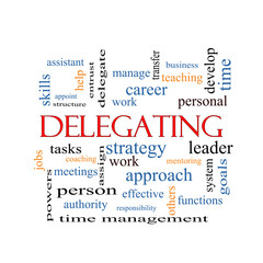 Delegating Word Cloud Concept
