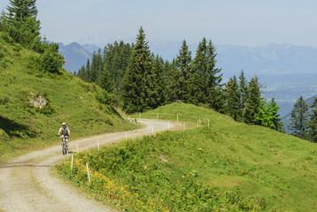 Radtour im Gebirge