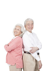 .Portrait of senior couple.