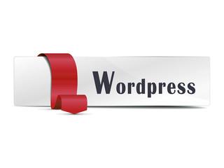 Wordpress detalle rojo