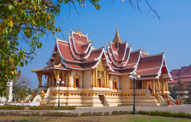 Vientiane - the capital of Laos