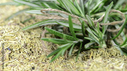Rosemary closeup clip (as loopable HD video)