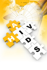HIV and AIDS puzzle crossword