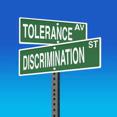 Road Sign- Tolerance- Discrimination
