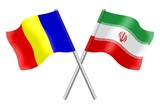 Flags: Romania and Iran