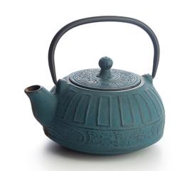 Iron teapot