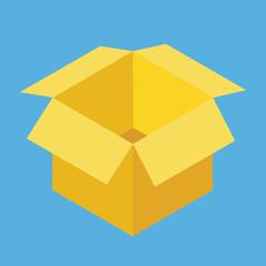 Vector Opened Box Icon