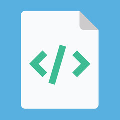 Vector Script Icon