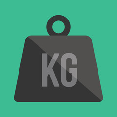 Vector Weight Kilogram Icon