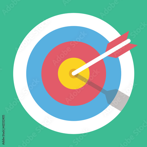 Vector Target Marketing Icon