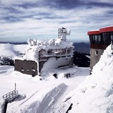 weather station at the peak of Chopok in Low Tatras