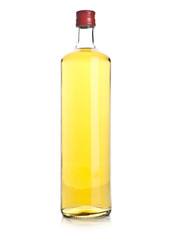 Glass brandy  isolated on white background