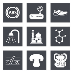 Icons for Web Design set 11