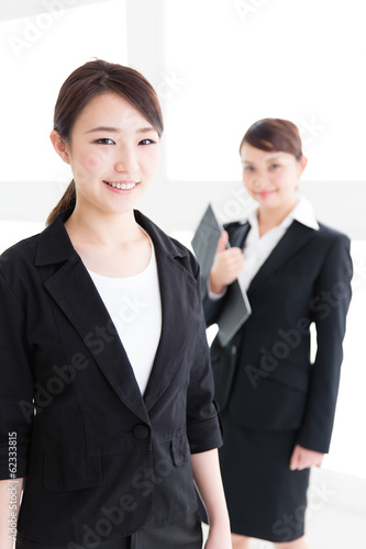 portrait of young asian businesswomen