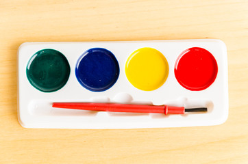 color brush palette