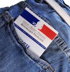 carte électorale dans la poche,élections