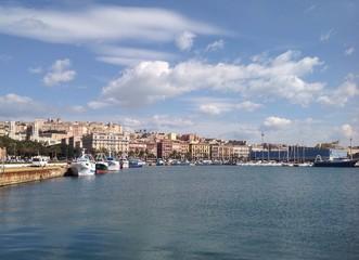 Cagliari città sul mare