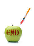 Green GMO apple
