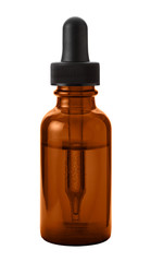 Brown Eye Dropper Bottle