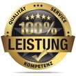 100% Leistung, Qualität, Service, Kompetenz