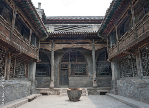 Old Chinese courtyard house (Pingyao - Shanxi province)