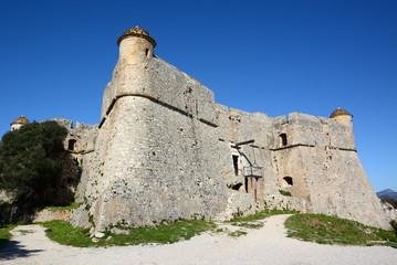 France, côte d'azur, Villefranche sur mer, fort de Mont Alban