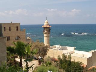 Israel. Mosque Dzhama el-Bajar (al-Bakhr)