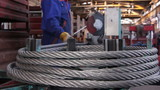 Heavy industry - steel rope, hawser