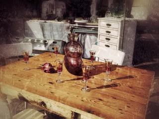 Alte Küchenmöbel: Nostalgie Shabby Chic