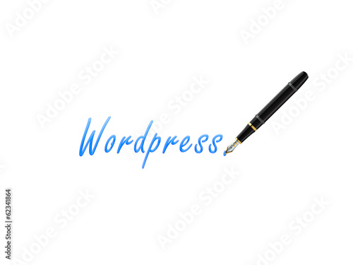 Firma pluma wordpress