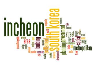 Incheon word cloud