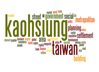 Kaohsiung word cloud