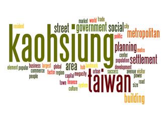 Kaohsiung word cloud