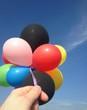 luftballons halten