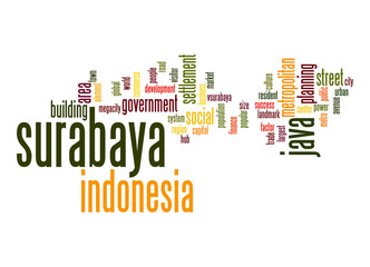 Surabaya word cloud