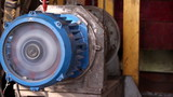 Heavy industry - Electric motor close up