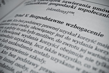 Polish civil law