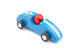 Blue toy race car - 62345628