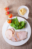 Turkey breast with green salad