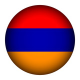 Armenia flag button.