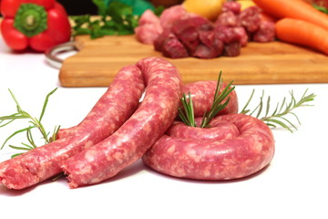carne assortita con verdure
