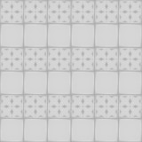 White ceramic tile with ornament. Seamless pattern
